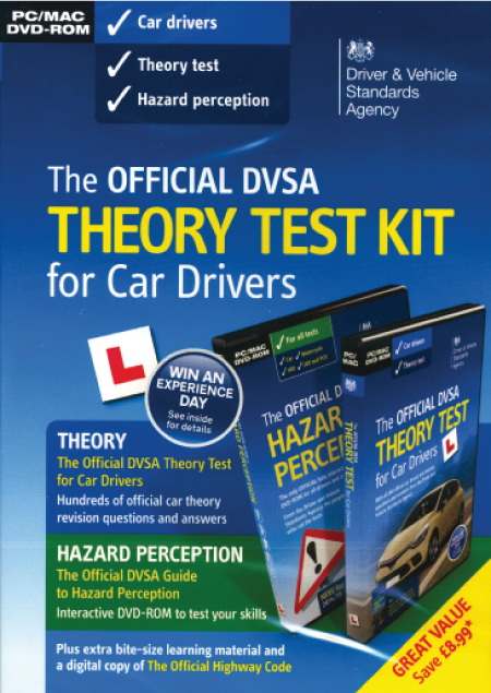 The Official Dvsa Complete Theory Test Kit Dvd Roms