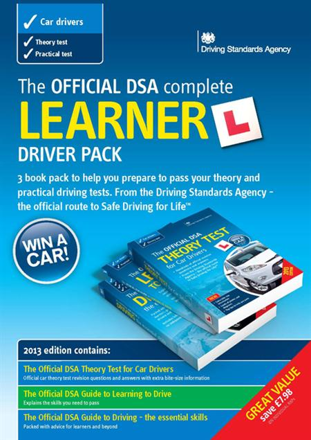 The Official DSA Complete Learner Driver Pack contains three official