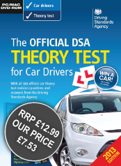 DSA Car Theory Test DVD-ROM