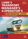 Lowe's Transport Manager's and Operator's Handbook 2020 50TH EDITION